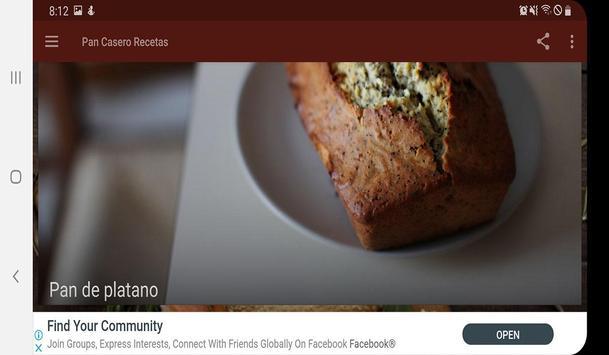 Pan Casero Recetas screenshot 7