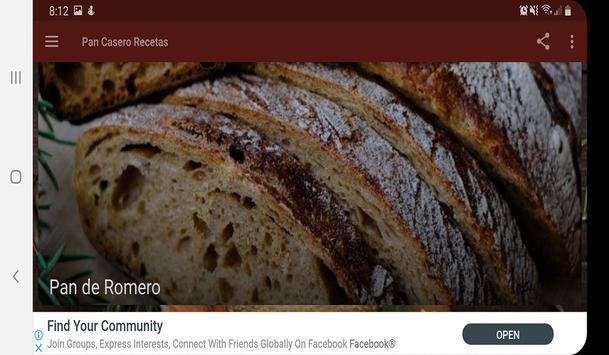 Pan Casero Recetas screenshot 8