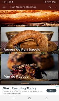 Pan Casero Recetas screenshot 1
