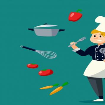 The easiest cooking recipes 🔊🍝🍏 poster