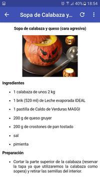 Halloween Recetas screenshot 3