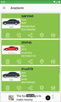 Araç Muayene ve Takip Uygulaması 截图 4