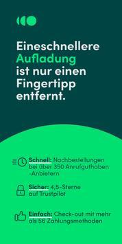 Recharge.com: Online Aufladen Plakat