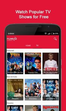 FilmRise - Free Movies & TV screenshot 1
