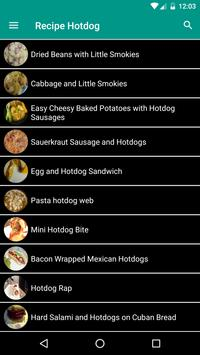 Recipes Hot Dogs and Burgers poster