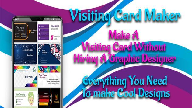 Visiting Card Maker - Business Card Maker screenshot 4
