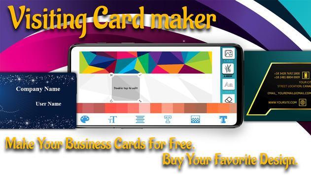 Visiting Card Maker - Business Card Maker screenshot 5