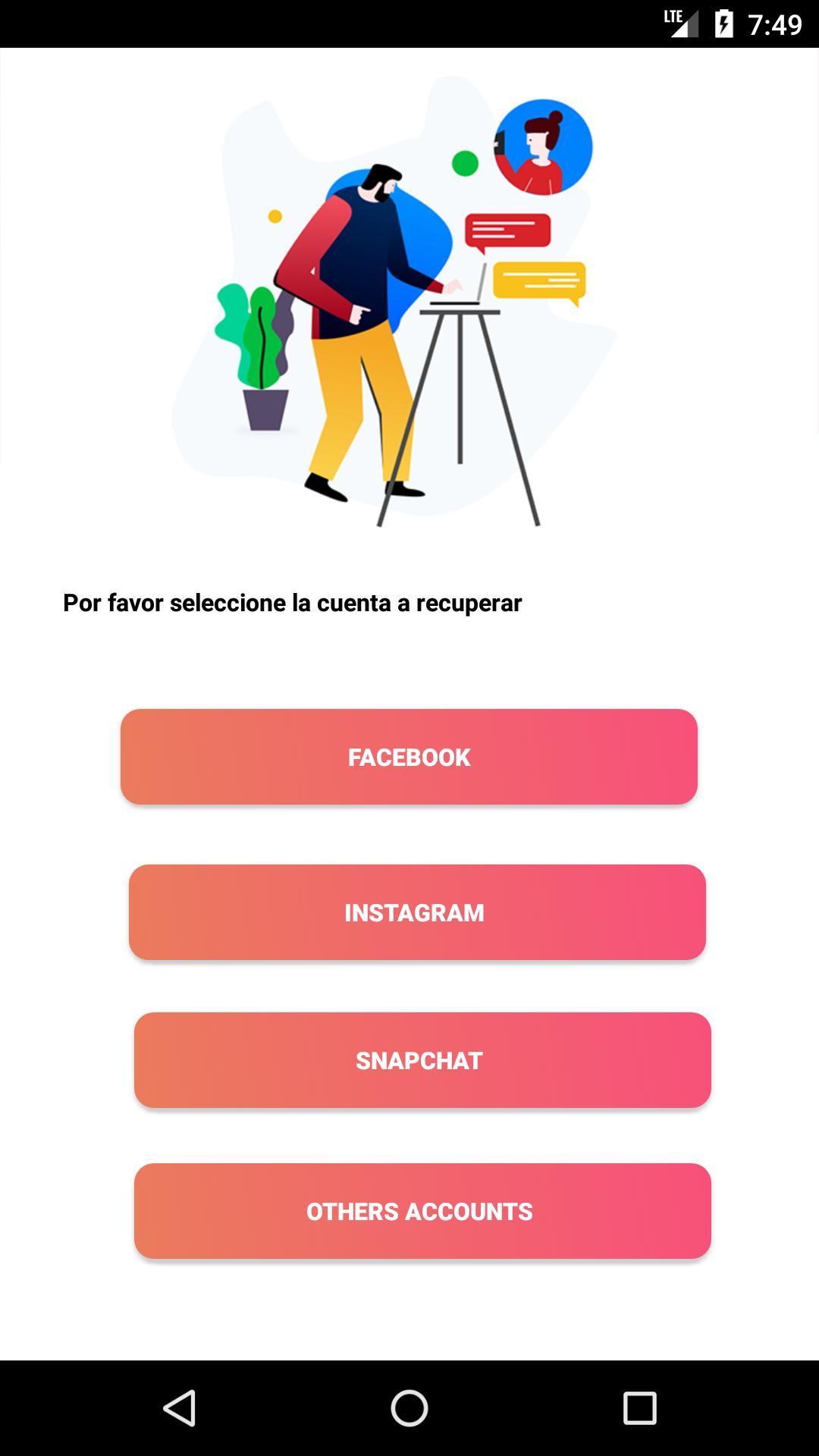 Cuenta De Recuperacion Contrasena Correo For Android Apk Download