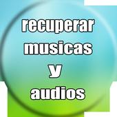 recuperar musicas e audios apagados : sd & celular icon