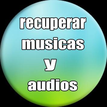 recuperar musicas e audios apagados : sd & celular screenshot 2