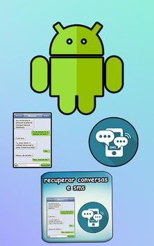 recuperar conversas e sms poster