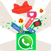 Reaction Stickers for whatsapp WAStickerApps 2019 icon
