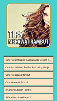 Tips Merawat Rambut 2020 screenshot 1