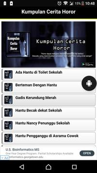 Kumpulan Cerita Horor Terbaru poster