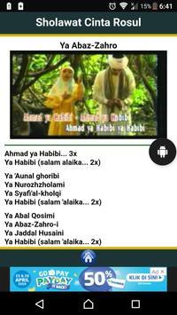 Sholawat Cinta Rosul screenshot 1