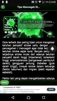 Tips Mencegah Stroke screenshot 1
