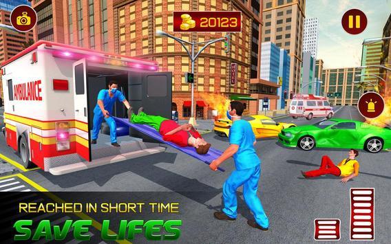 Real Ambulance Rescue 2019 screenshot 9