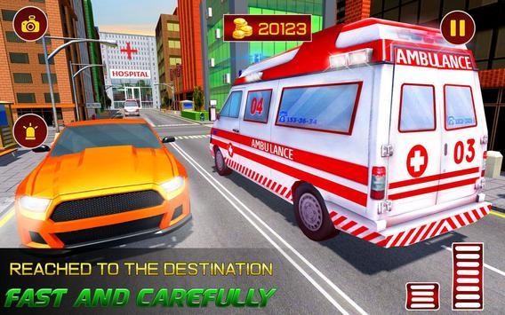Real Ambulance Rescue 2019 screenshot 11