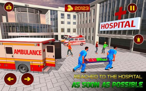 Real Ambulance Rescue 2019 poster