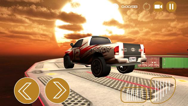 Real Impossible Tracks: Ultimate Stunt Car 3D screenshot 2