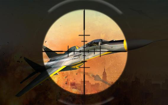 Grand Jet Sky fighter 2019:Jet Shooting War screenshot 4