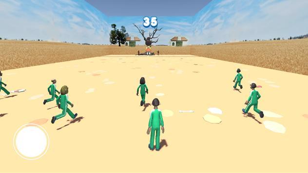 squid game red light, green light screenshot 3