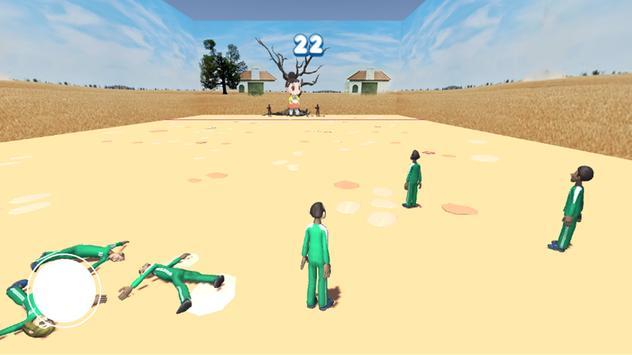 squid game red light, green light screenshot 1