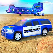 Offroad Police Transporter Truck 2021 icon