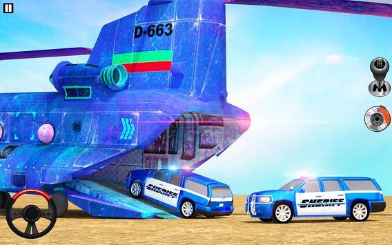 Offroad Police Transporter Truck 2021 screenshot 3
