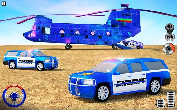 Offroad Police Transporter Truck 2021 screenshot 12