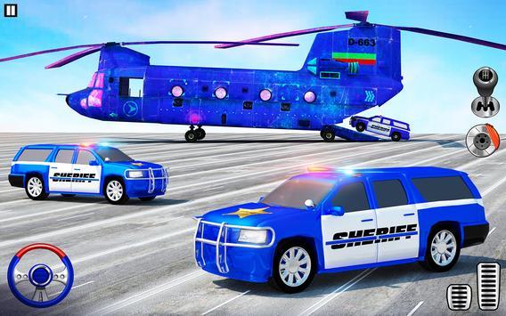 Offroad Police Transporter Truck 2021 screenshot 10