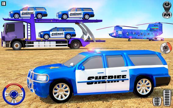 Offroad Police Transporter Truck 2021 screenshot 17