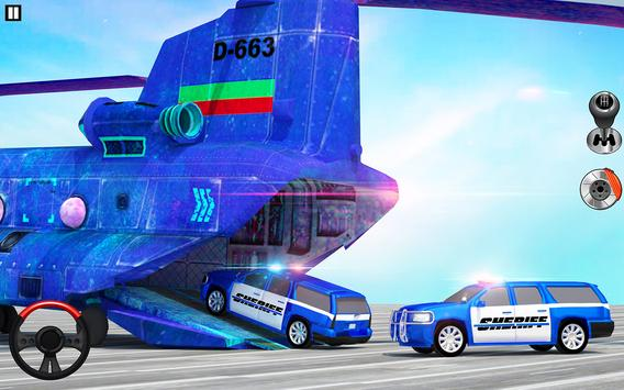 Offroad Police Transporter Truck 2021 screenshot 7