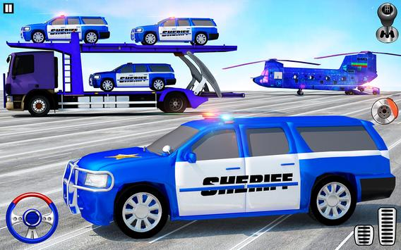Offroad Police Transporter Truck 2021 screenshot 14