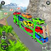 Crazy Car Transport Truck ikona