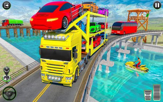 Crazy Car Transport Truck screenshot 10