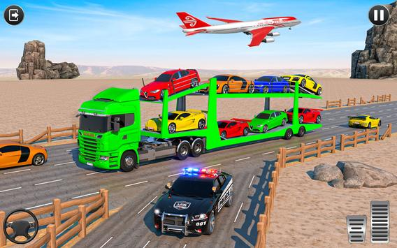 Crazy Car Transport Truck screenshot 11