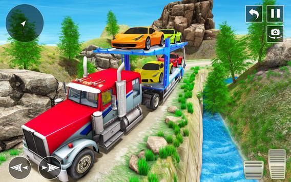 Crazy Car Transport Truck screenshot 15