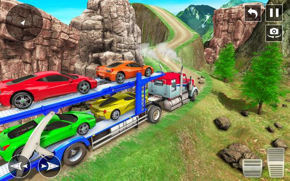 Crazy Car Transport Truck screenshot 13