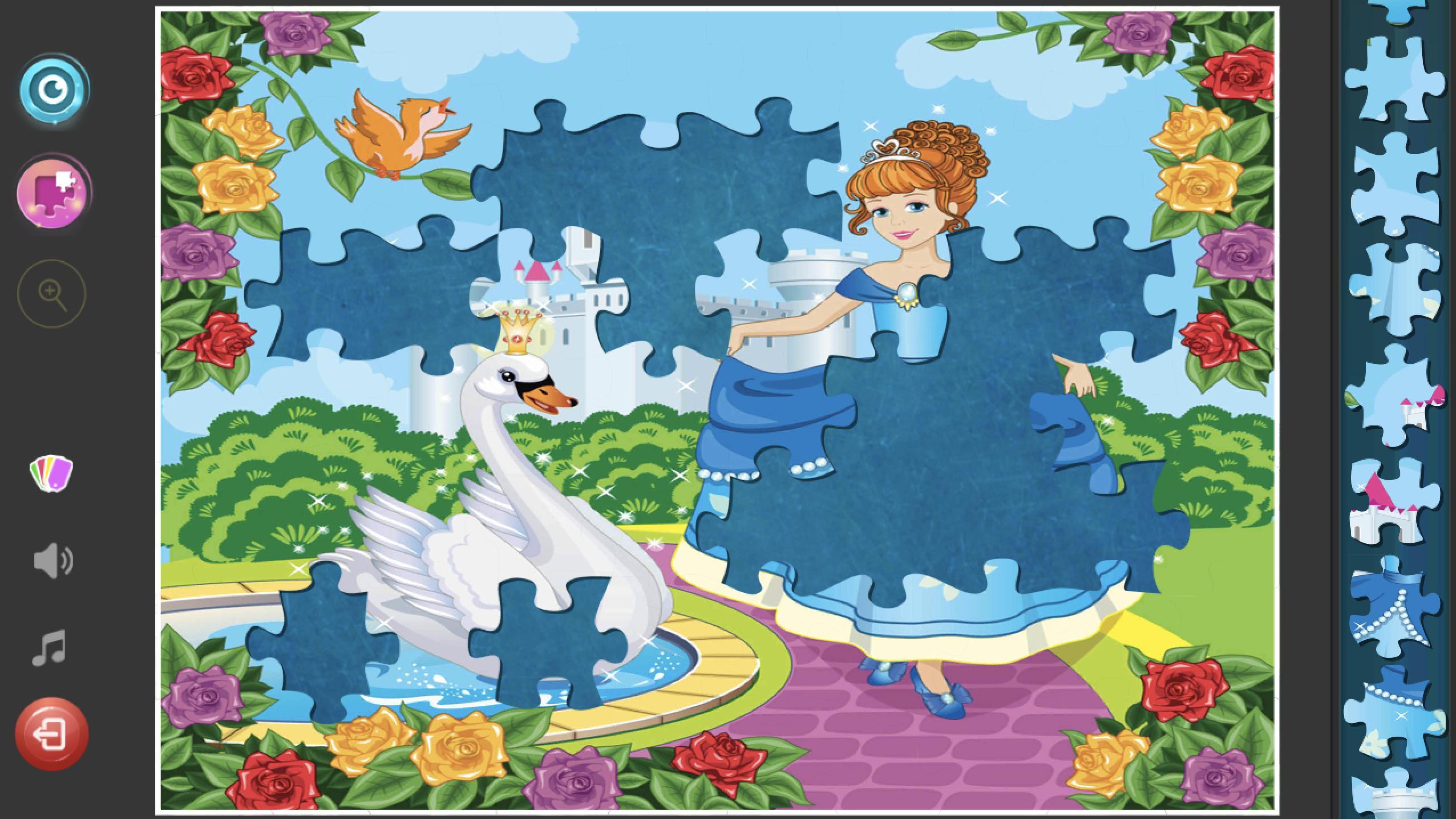 Princess Puzzles Jigsaw For Girls для андроид скачать Apk