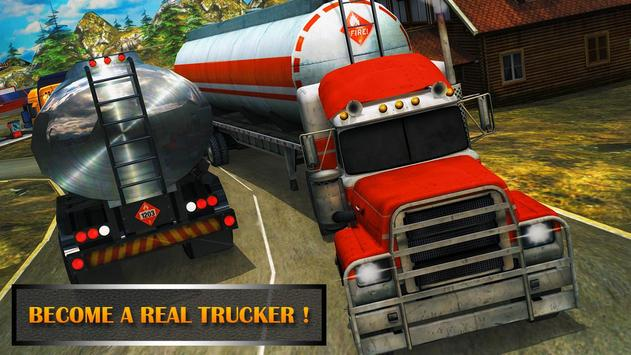 Real Truck Parking simulator3D poster