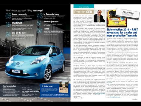 RACT Journeys magazine screenshot 4