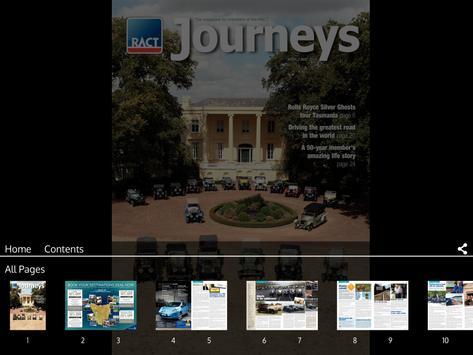 RACT Journeys magazine screenshot 6