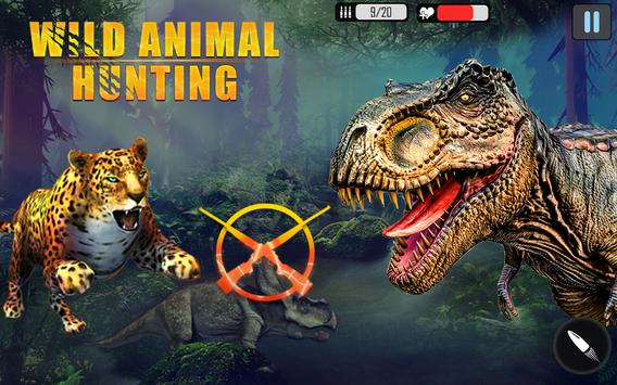 Real Wild Animal Hunting Games: Dino Hunting Games screenshot 7