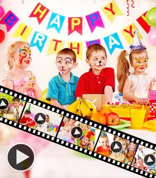 Birthday Video Maker screenshot 1