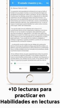 Examen de admisión UNAN-León screenshot 3