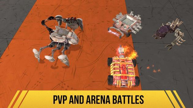 Robot Fighting 2 - Minibots 3D الملصق