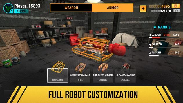 Robot Fighting 2 - Minibots 3D تصوير الشاشة 1