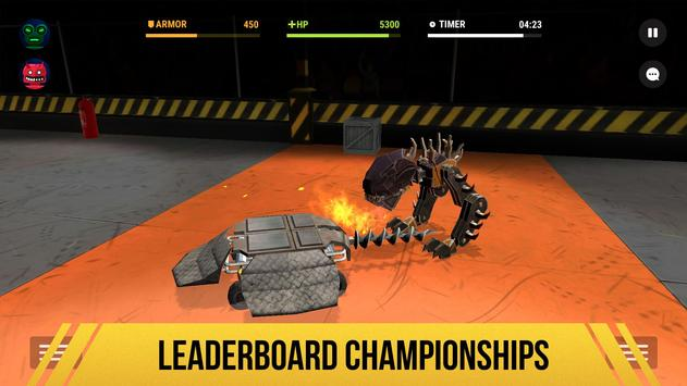 Robot Fighting 2 - Minibots 3D تصوير الشاشة 2