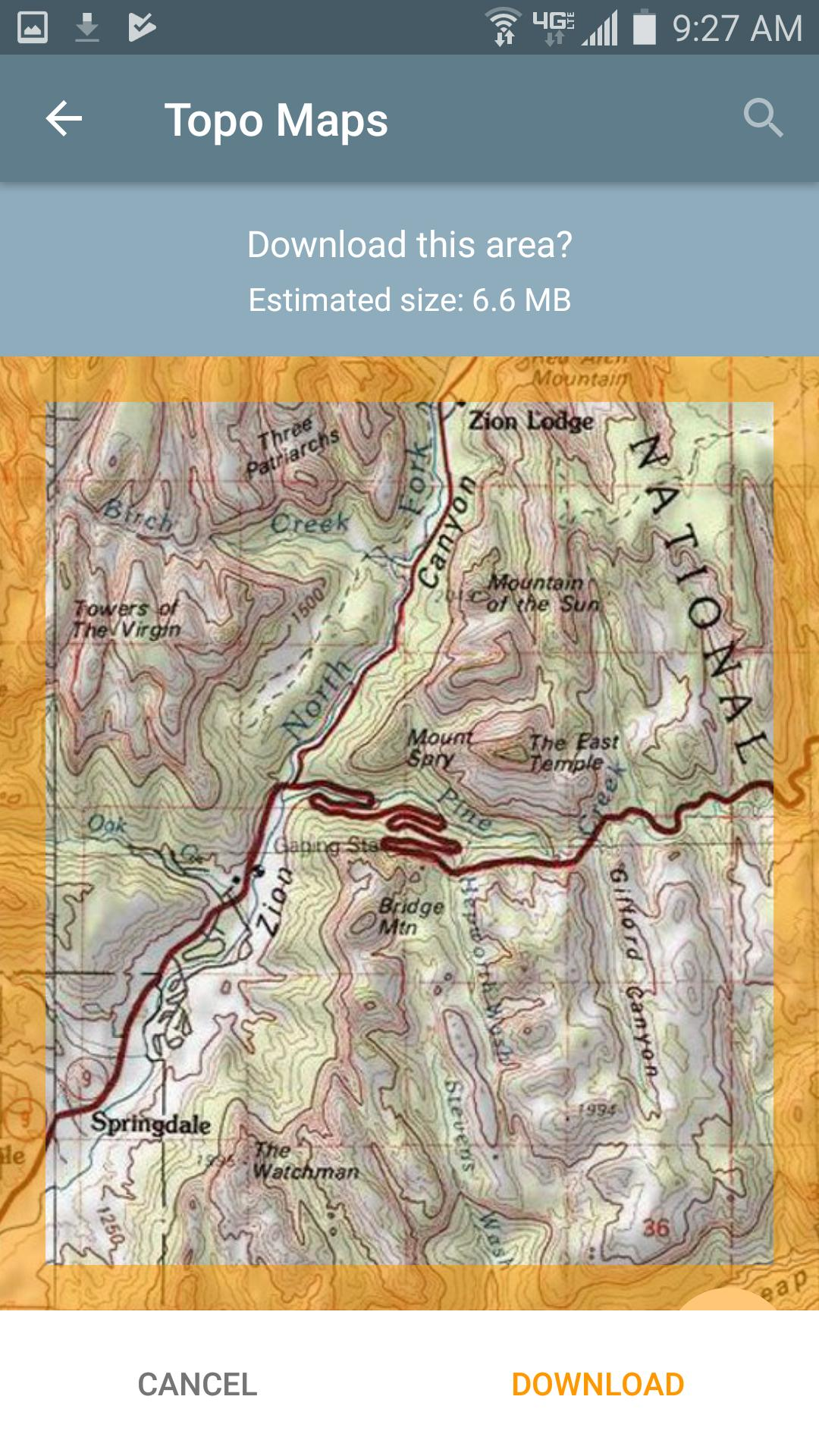 Topo Maps for Android - APK Download